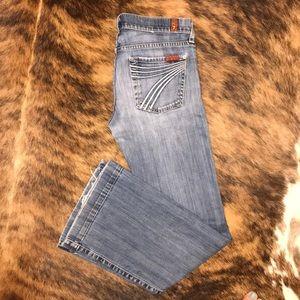 7 For All Mankind dojo jeans sz 26